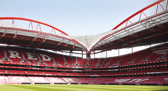 Visits to the Estádio da Luz Stadium and the Benfica Museum