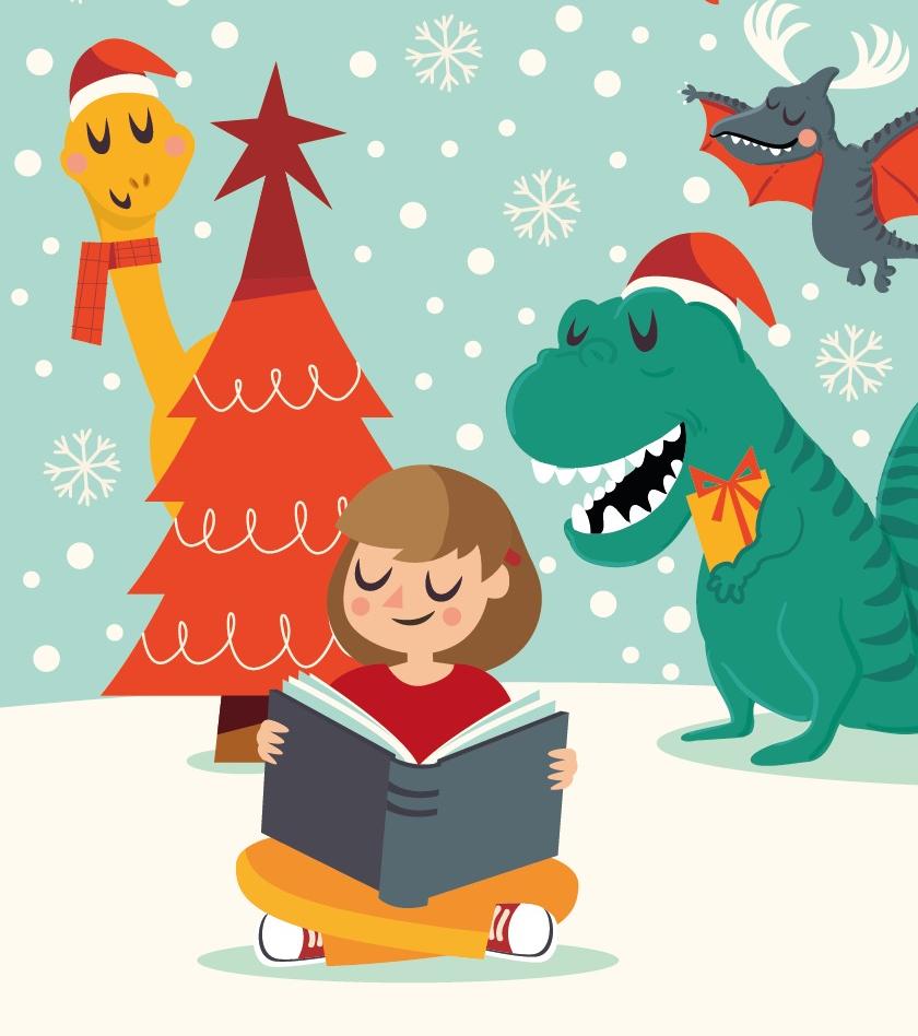 O Natal dos Dinossauros